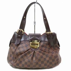 Auth Louis Vuitton Damier Sistina Pm Bag #912L36